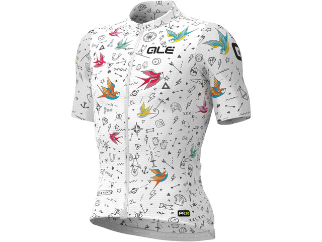 Alé Cycling PRR Versilia SS Jersey Men, white